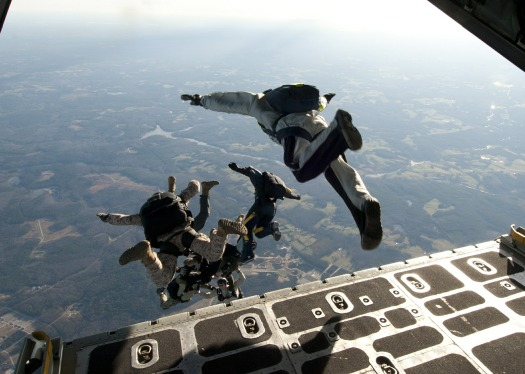 Image credit: https://pixabay.com/en/parachute-training-military-jump-569961/